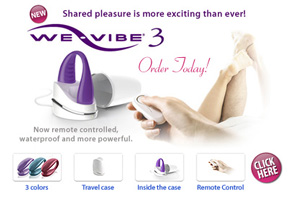 Buy the We-Vibe 3 today for the best couples vibrator ever!