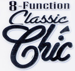 8 function classic chic vibrators by cal exotics