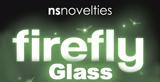 ns novelties firefly glow in the dark glass toys