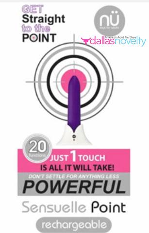 nu sensuelle straight to the point bullet purple