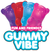 Rock Candy Gummy Bear 5-function Mini Vibe