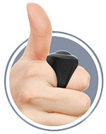 charged vooom! RC finger ring