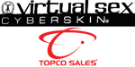 topco cyberskin virtual sex collection of sex toys