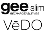 VeDO gee Slim 10-Mode Rechargeable Silicone G-Spot Bullet Vibrator