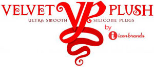 velvet plush silicone toys by icon brands